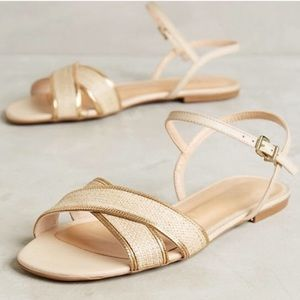 🆕 Anthropologie VICENZA Sandals, Size 9, NWT